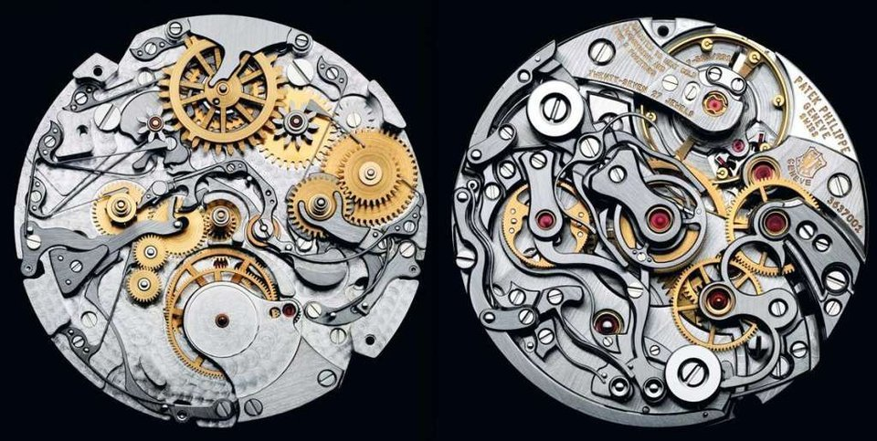 Internal working of watch