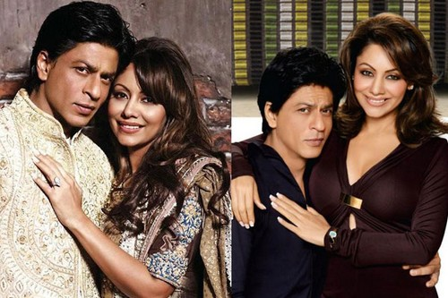 1. Shah Rukh Khan and Gauri Chhibba