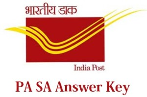 India Post PA/SA Answer Key 2014