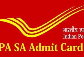 India Postal PA/SA Admit Card Download 2014