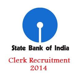 SBI Clerk Recruitment 2014