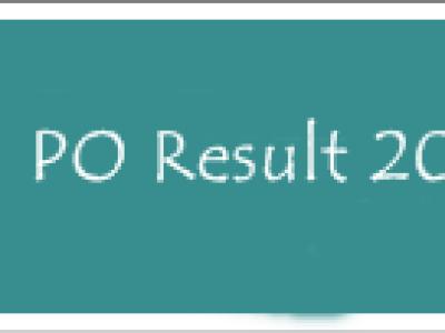 SBI PO Result 2014 -15